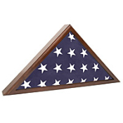 Flag Case for Veteran Funeral