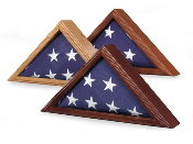 Army Flag Display case