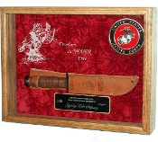 Knife Display Case, Knife Display cases, Knife Display frames, military Knife Display case,