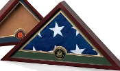Military Frame, Military Flag Display Case