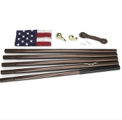 Residential Flagpole Kit With Flag