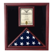 Flag and Document Case - Vertical Document