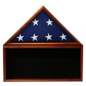 Flag & Memorabilia Display Case, flag and display case, memorabilia case, memorabilia display case, Black background case