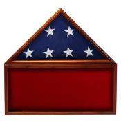 Flag & Memorabilia Display Case, flag and display case, memorabilia case, memorabilia display case, Red background case