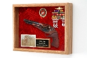 Revolver Display Case, Revolver Shadow Box