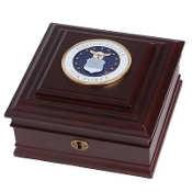 U.S. Air Force Medallion Desktop Box, Air Force Medallion Desktop Box