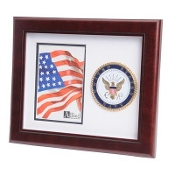 U.S. Navy Medallion Portrait Picture Frame