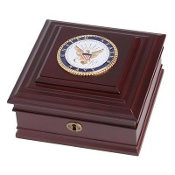 U.S. Navy Medallion Desktop Box