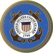 COAST GUARD Color Medallion