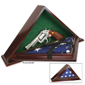 The Patriot flag case - Hidden flag display case – Flag case, Concealment flag case