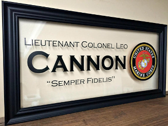 Military Gifts, US Marines, Custom Family Gift, Marine Corps