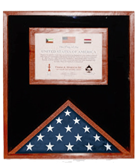 Flag and Document Case