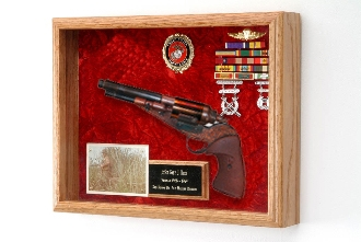Deluxe Knife or Pistol Display Case