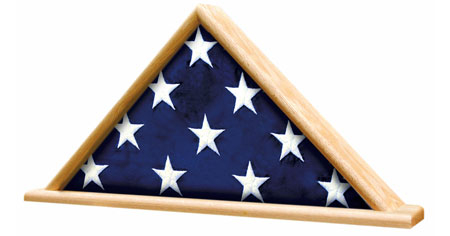 Memorial Flag Display Shadow Box