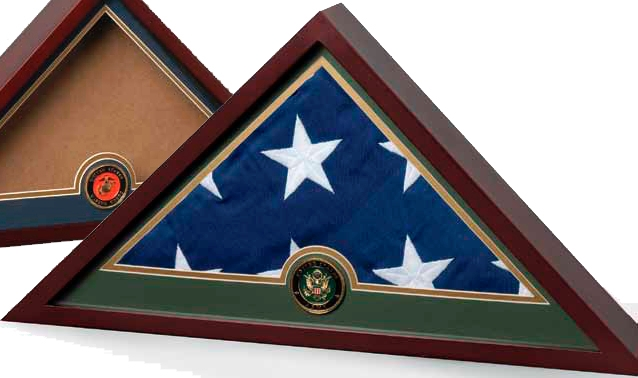 Military Flag Display case, Military Frame, Military Flag Display Case