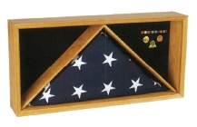 Rectangle Flag/Medal Case, Medal and flag Frame