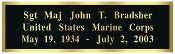 name plate for flag case,name plate for Challenge Coin Display case