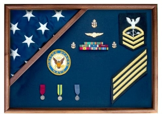 Flag Display Case | American Flag Box | Burial Flag Case