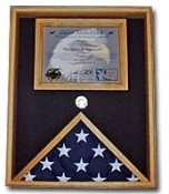 Military Certificate Case, Military Certificate Case, Military flag and document case