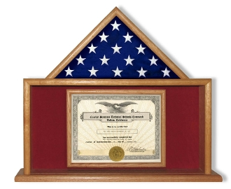 Flag and Certificate Case