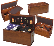 Heirloom Personal Effects Chest, Military Effects Chest