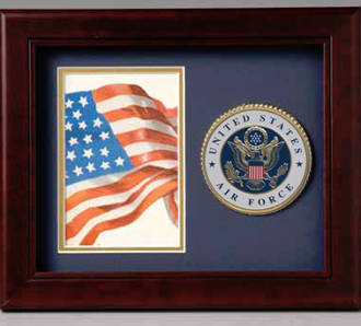 Air Force Medallion Frame, Air Force shadow Box