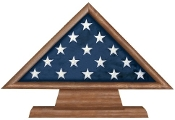 Flag Memorial Case on Pedestal
