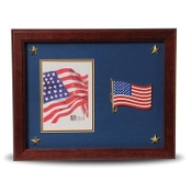 American Flag Medallion 5 by 7 Picture Frame with Stars