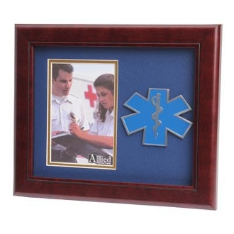 4 by 6 EMS Medallion Portrait Picture Frame