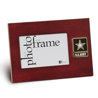 Go Army Medallion Desktop Picture Frame