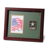 Go Army Medallion Picture Frame with Stars, Army Photo frame, Picture Frame