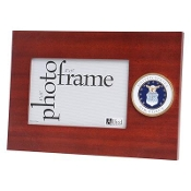 U.S. Air Force Medallion Desktop Picture Frame