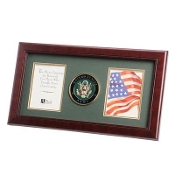 U.S. Army Medallion Double Picture Frame