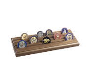 Coin Display case - 4 Row, American Challenge Coin Holder