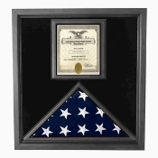 Flag and Certificate Case, Flag and Certificate Case - Black Frame, American Made