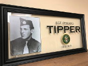 Army Personalized Frame, Custom Army Frames