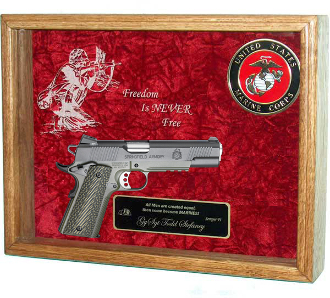Pistol Display Case Pistol Shadow Box
