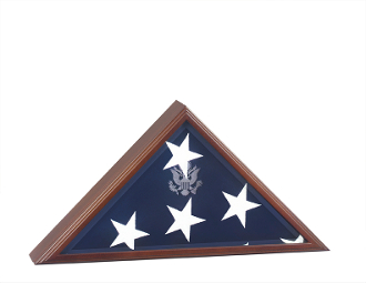 Flag Case and Military Medals Display Cases hand made in the USA.