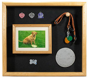 Pet Memorial Display Case, Pet Memorial shadow box