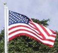 Outdoor Nylon U.S. American Flags