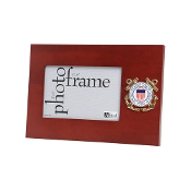 US Coast Guard Medallion 4-Inch x 6-Inch Desktop Picture Frame