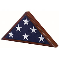 The Capitol Flag Case is a special flag case for the display of a 3' x 5' flag, as flown over the US Capitol and other locations.