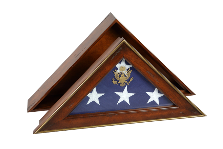 Five Star General Flag Case, Burial flag display case