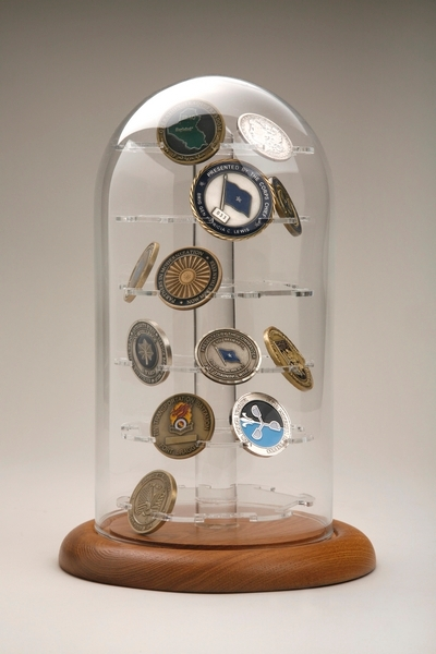 Challenge coin - Cases  Display Cases