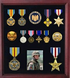 American Medal Display case