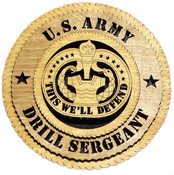 Army Drill Sergeant Gift