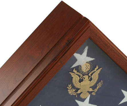 Qulaty wood flag cases