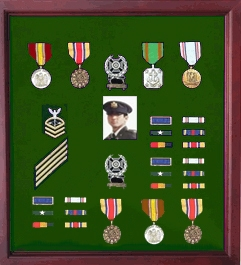 military medal display frame